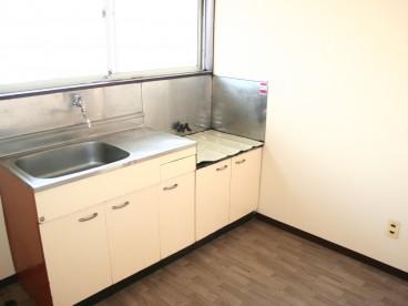 キッチンはDKタイプなので広く使えますね!
