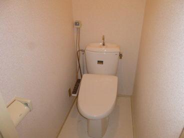 洋式トイレで楽ちんですね!