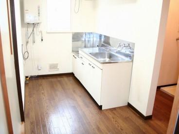 キッチンはこのような形。