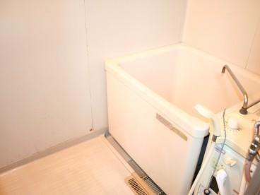 浴室は単独式です。 トイレと一緒ではないので、衛生的に使えます。