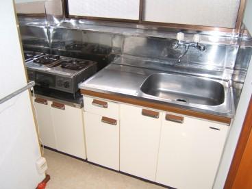 台所はコンパクトサイズになります。