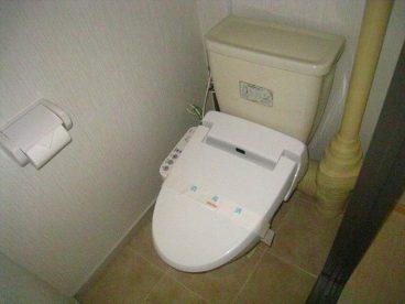 トイレはウォシュレットトイレ