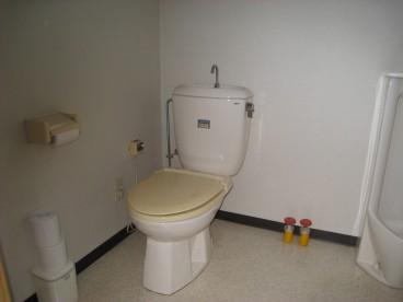 トイレは洋便器です。