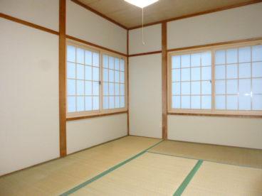 和室のお部屋です。