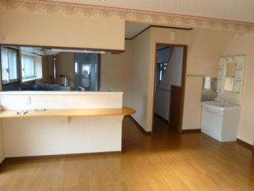 対面キッチンや独立洗面台は便利ですよね!