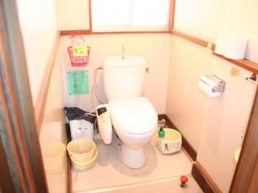 トイレも共用になります。