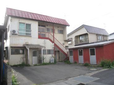 小山アパート(1F)の外観