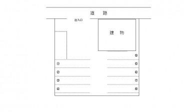 新町渋谷様駐車場の間取り画像
