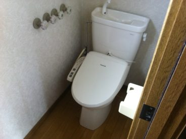 独立式のトイレです。