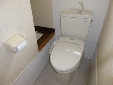 トイレはウォシュレットトイレです!