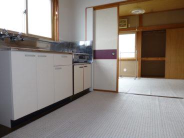 広々清潔感のあるキッチンです^^