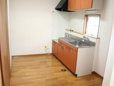 木目調キッチンです。