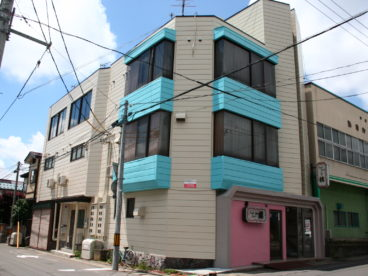 ヤマサアパート202号室の外観