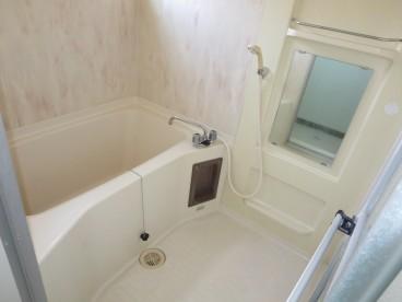 浴室も単独式。アパートサイズではありません。家サイズのUBです。