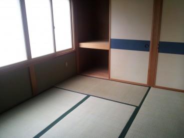 和室もあります。客間にも寝室にもOK!