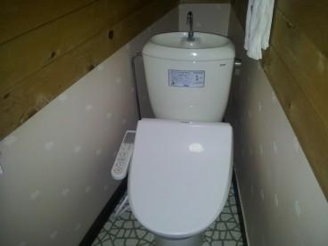 ウォシュレット付トイレ!