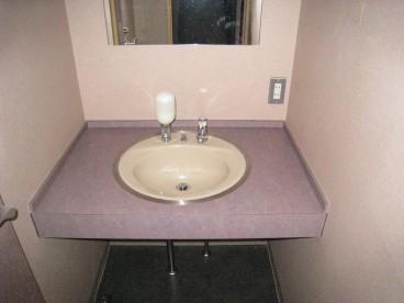 洗面手洗いついてます。