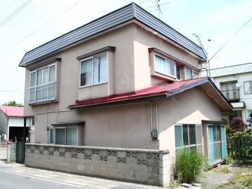 富田柿崎住宅の外観