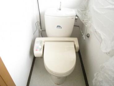 トイレは洋式 ウォシュレット!