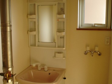 洗面台があると、いろいろ便利ですよね。