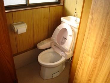 トイレは洋式ですよ