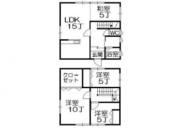 泉野5丁目古川住宅の間取り画像