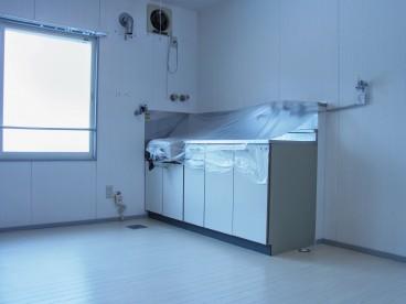 キッチンはこんな感じです。
