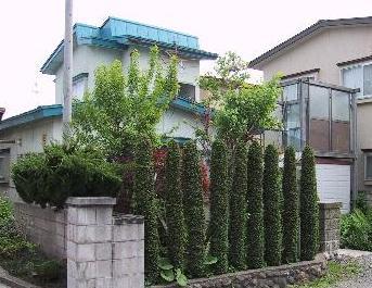 松原東浜名貸家の外観