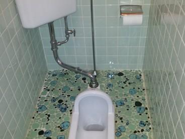 こんな感じの和式のトイレです。