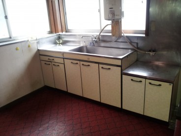 キッチンはこんな感じです^^