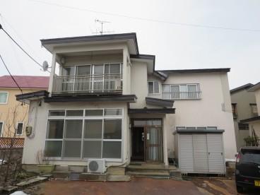 高崎成都地所住宅の外観