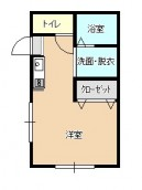 ミッドハウス102号室の間取り画像