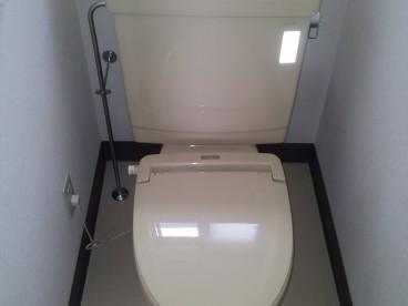 洋式トイレ完備!!