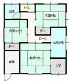 中野2丁目岩澤住宅2号の間取り画像