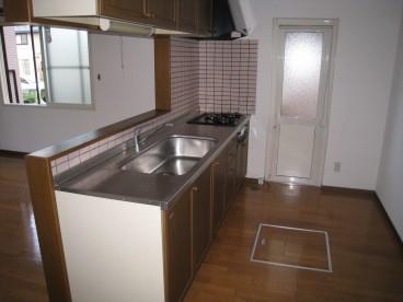 キッチンが広いので使いやすそうですね