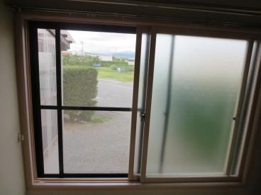 インプラスされた二重窓! 冬の寒さを軽減してくれます!