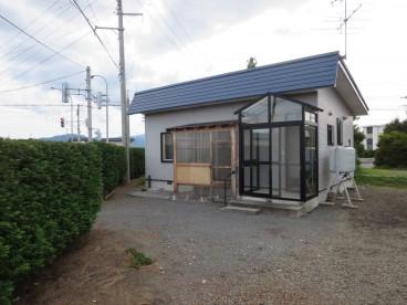 平川市国広住宅の外観