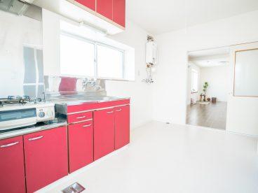 キッチン周りが広く、調理を妨げません