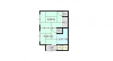 中野福田住宅の間取り画像