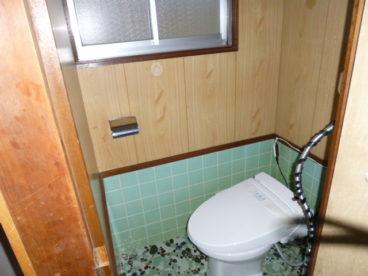 トイレは洋式!窓あります♪