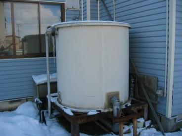 井戸水を使用しています。水道料無料です
