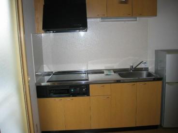 キッチンはIH ガス代がかかりませんね