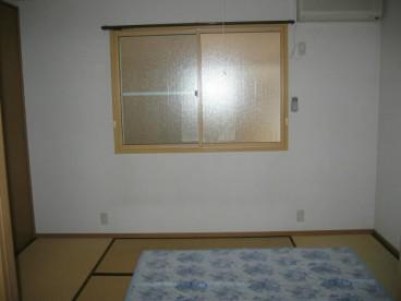 和室付き、寝室にちょうどいい大きさですね