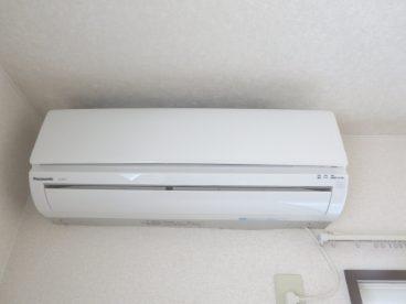 夏の必需品 エアコン付き