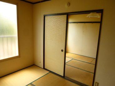 二部屋あれば、ファミリーでも、荷物が多くてもカバーできますね
