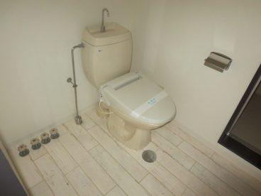 トイレはけっこう広めのスペースですよ