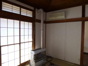 畳のお部屋は掃き出し窓で解放感抜群!