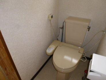 洋式トイレです!