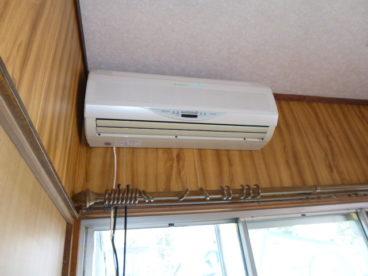 2階にもエアコンあります。