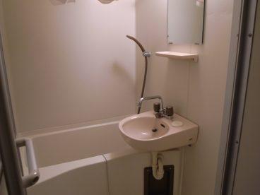 浴室は単独ユニットバス